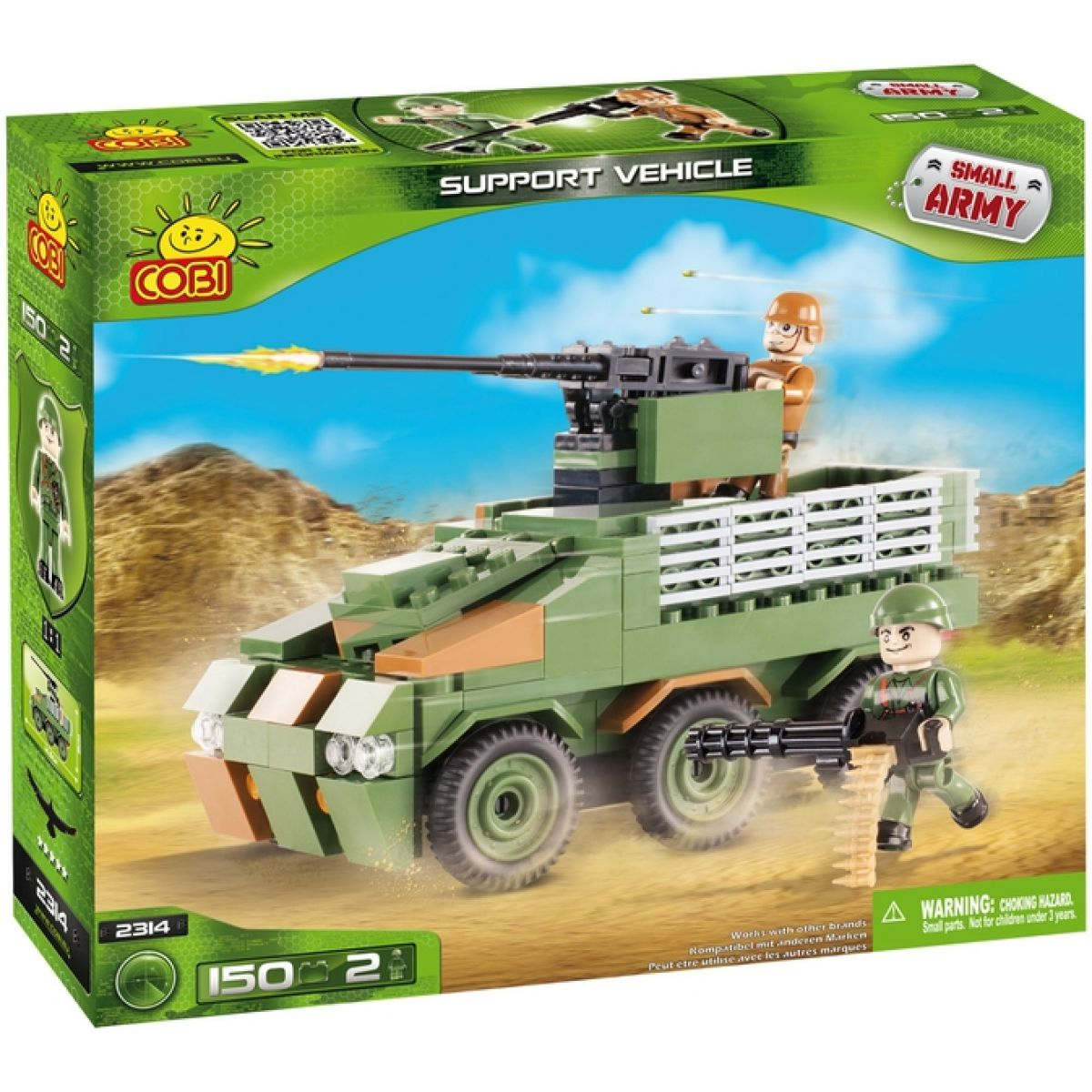 Cobi 2314 Malá armáda Bojové vozidlo pěchoty