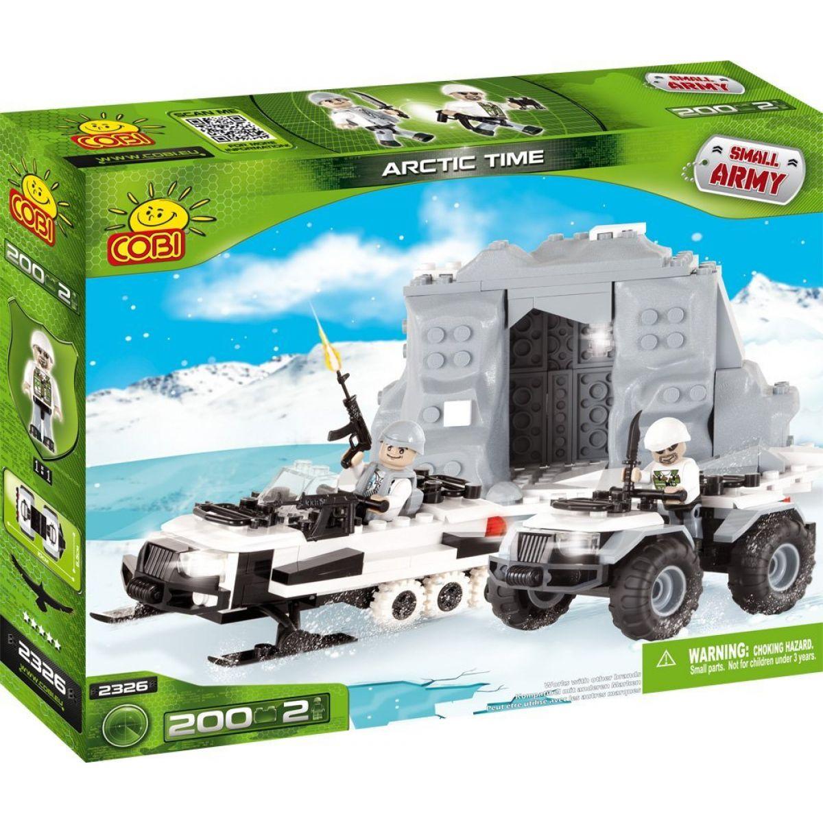 Cobi 2326 Malá armáda Polární jednotka ARCTIC TIME