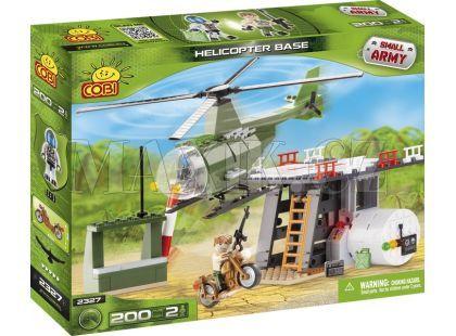 Cobi 2327 Malá armáda Základna s helikoptérou