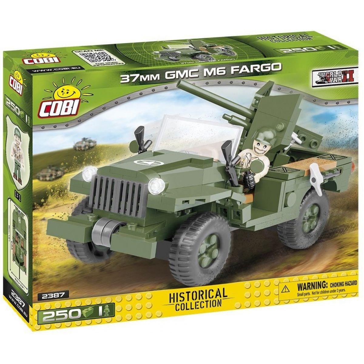Cobi 2387 Malá armáda II. světová válka 37 Mm Gmc M6 Fargo