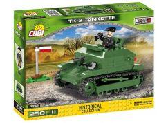 Cobi 2392 Malá armáda II. světová válka TKS 3 Tankette