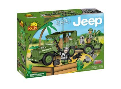 Cobi 24200 Jeep Willys s dělem