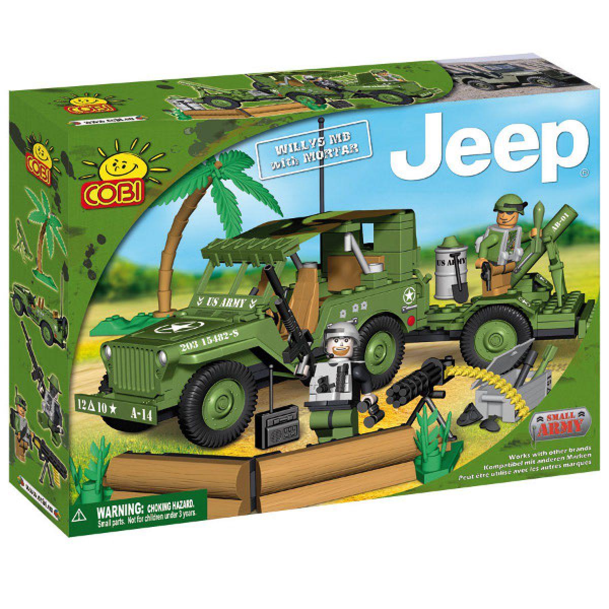 Cobi 24200 Jeep Willys s dělem