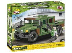 Cobi 24306 Malá armáda NATO terénní vozidlo zelené 1:35
