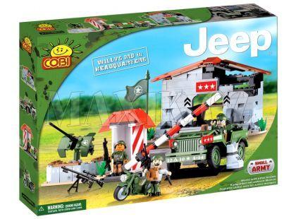 Cobi 24320 Malá armáda Jeep Willys MB velitelská základna