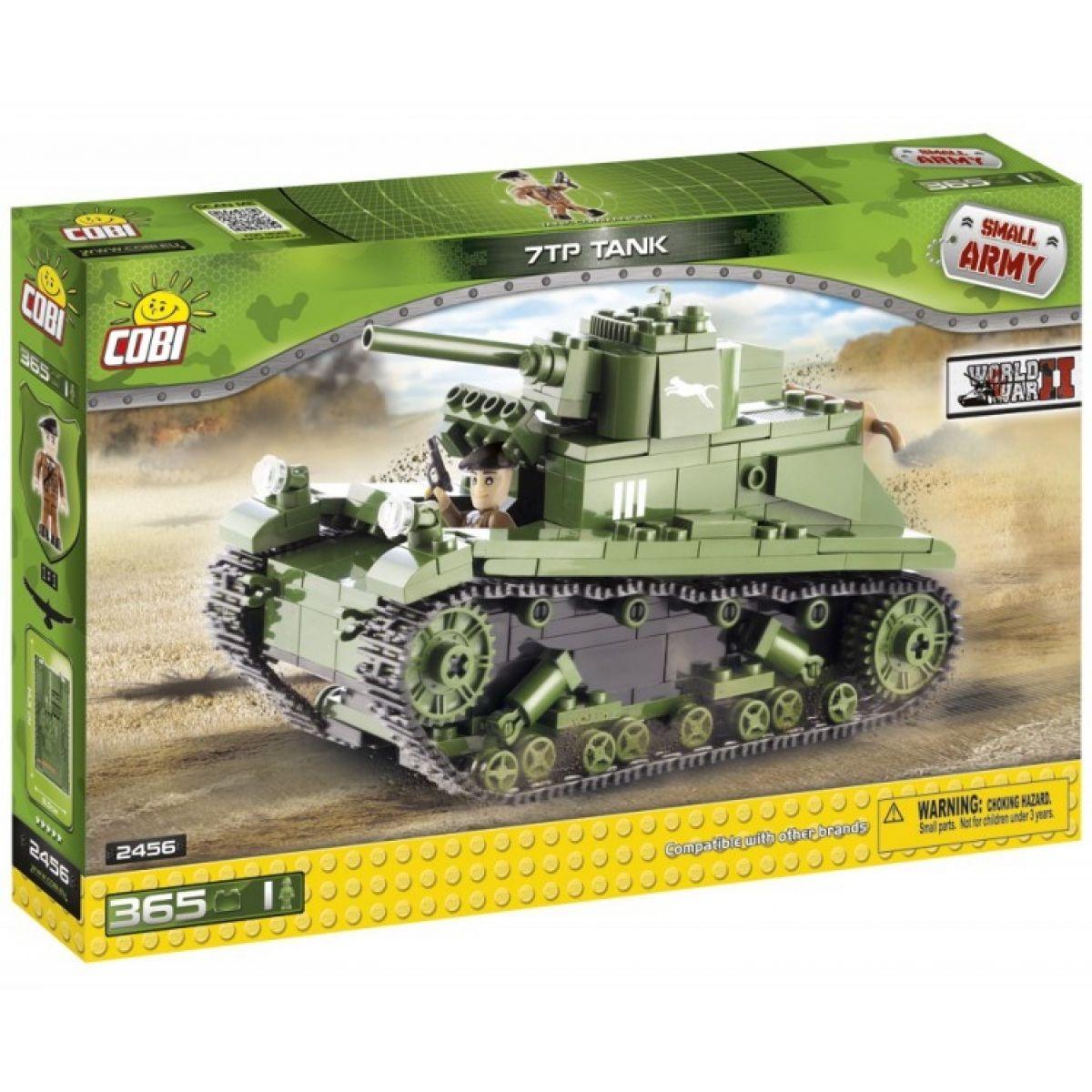 Cobi 2456 Malá armáda II. světová válka Polský tank 7TP
