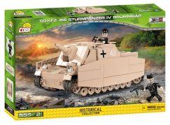 Cobi 2514 Malá armáda II WW Sturmpanzer IV Brummbar Sd Kfz 166