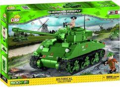 Cobi 2515 II. světová válka Sherman Firefly