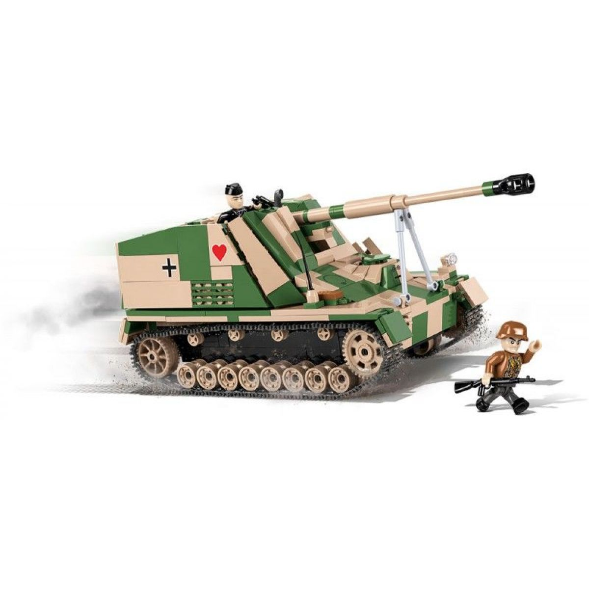 Cobi 2517 Malá armáda II. světová válka Sd Kfz 164 Nashorn