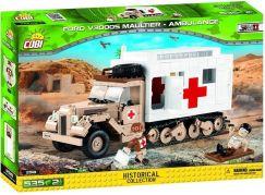 Cobi 2518 II. světová válka Ford V3000S Maultier Ambulance
