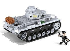 Cobi 2523 Malá armáda II. světová válka Panzer III Ausf E - Poškozený obal