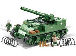 Cobi 2531 Malá armáda Samohybné dělo M12 GMC 155 mm