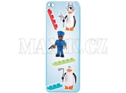 Cobi 26003 Tučňáci z Madagaskaru Tři figurky v blistru - Tučňáci a strážník