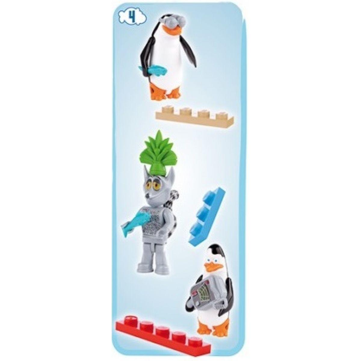 Cobi 26003 Tučňáci z Madagaskaru Tři figurky v blistru - Tučňáci a Jelimán