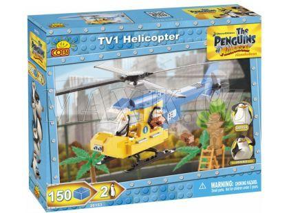 Cobi 26153 Tučňáci z Madagaskaru Helikoptéra TV1