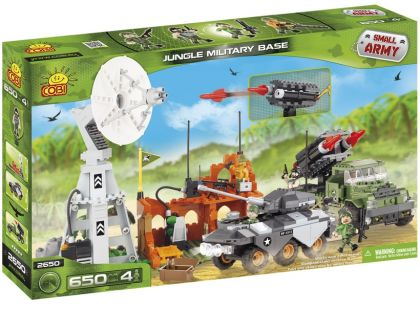 Cobi 2650 Malá armáda Vojenská základna v džungli