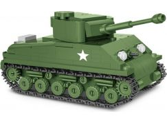 Cobi 2705 Malá armáda II. světová válka Sherman M4A3E8 Easy Eight 1:48