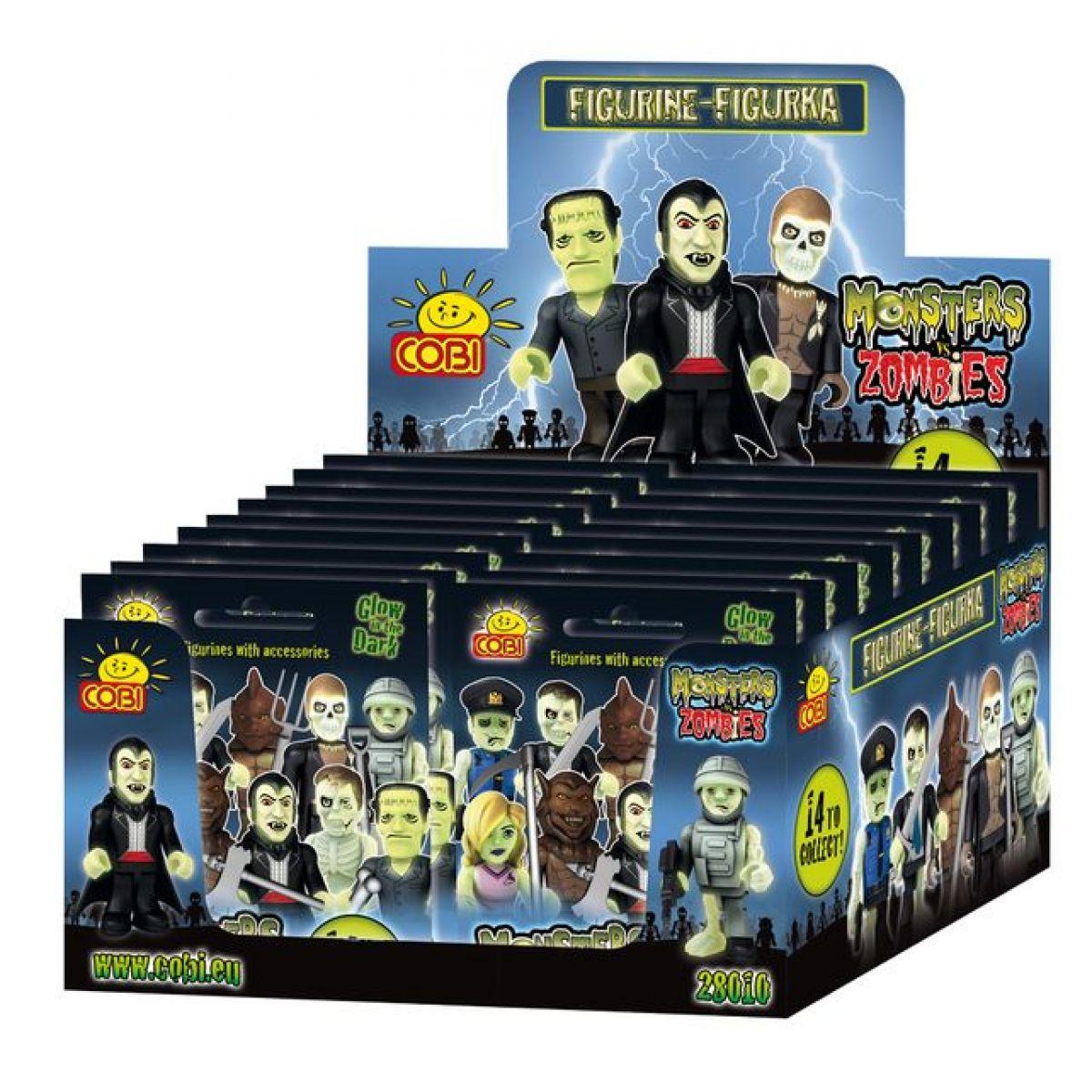 Cobi 28001 Monsters vs Zombies Figurka v sáčku