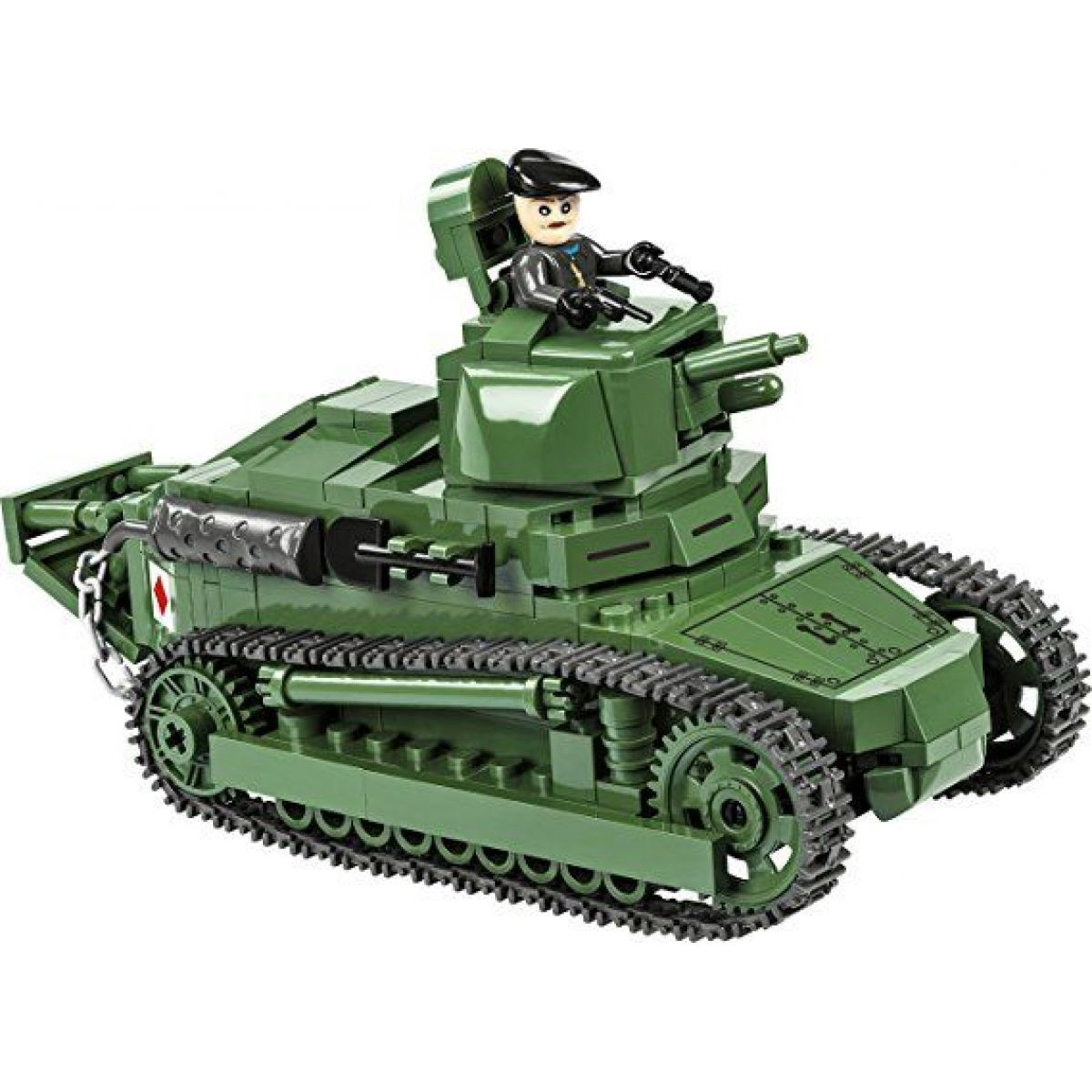 Cobi 2973 Malá armáda I. světová válka Tank Renault Ft-17