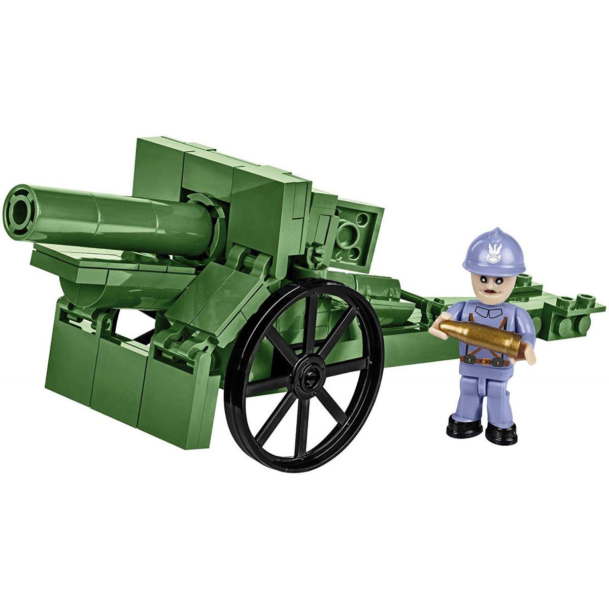Cobi 2981 Malá armáda 155mm Field Howitzer 1917