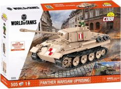 Cobi 3035 World of Tanks Panther V Varšavské povstání