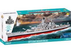 Cobi 3084 World of Warships Bitevník Misouri BB-63, 1:300