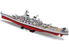 Cobi 4812  Malá armáda Bitevník Iowa class USS Missouri BB-63 Iowa BB-61, 1:300