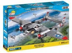 Cobi 5539 Malá armáda II. světová válka Lockheed P-38 Lightning
