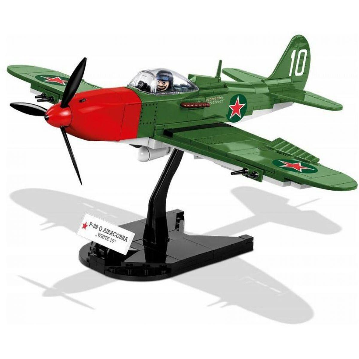 Cobi 5547 Malá armáda II. světová válka P-39 Aircobra white 10
