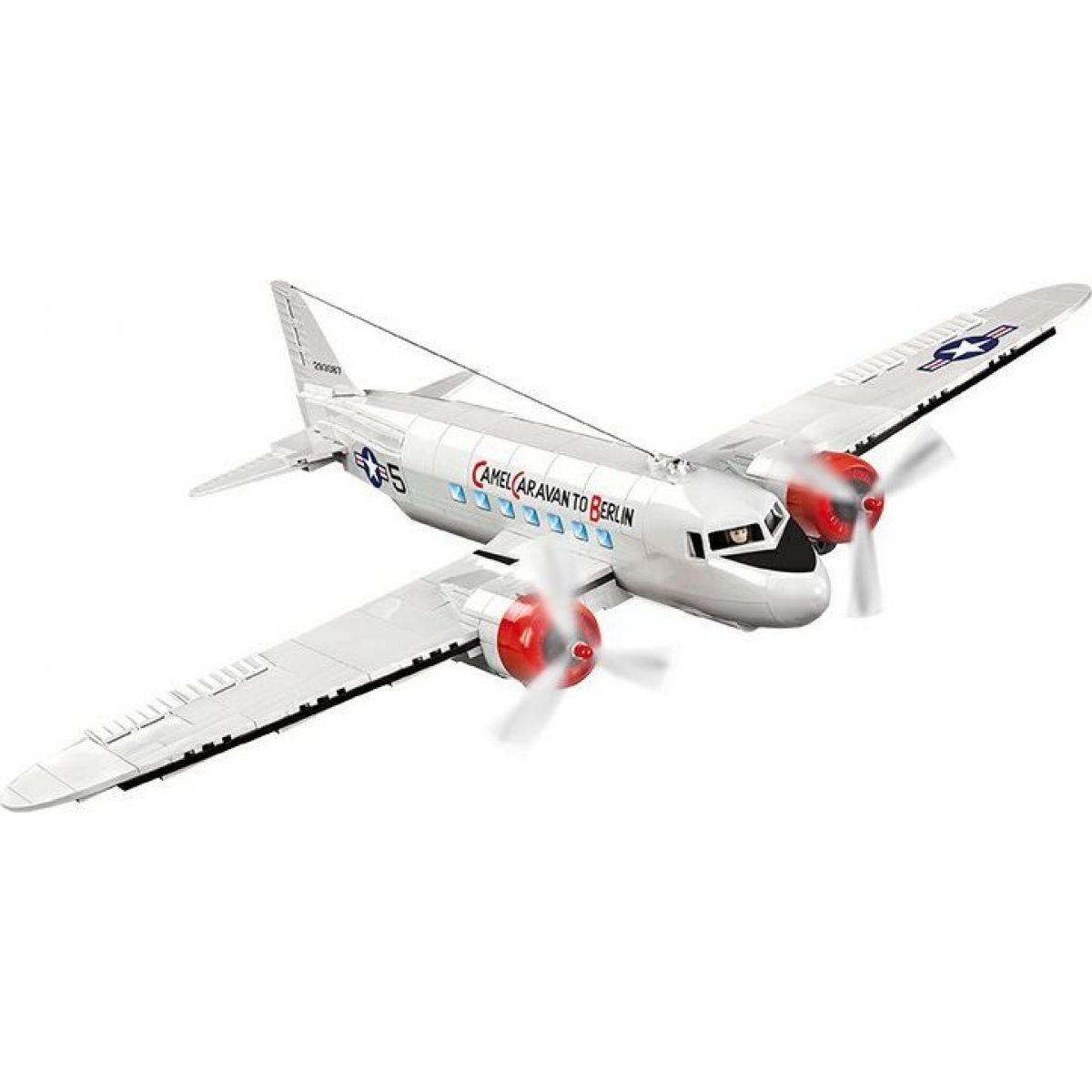 Cobi 5702 Malá armáda II. světová válka Douglas C-47 Skytrain Dakota Berlin Airlift
