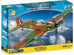 Cobi 5709 Malá armáda II. světová válka Hawker Hurricane MK I 270 k
