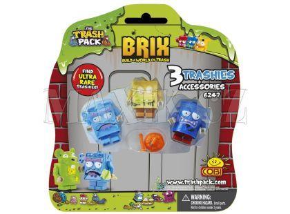 Cobi 6247 Trash Pack 3 figurky s doplňky na blistru