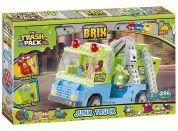 Cobi 6249 Trash Pack Popelářské auto s kontejnerem