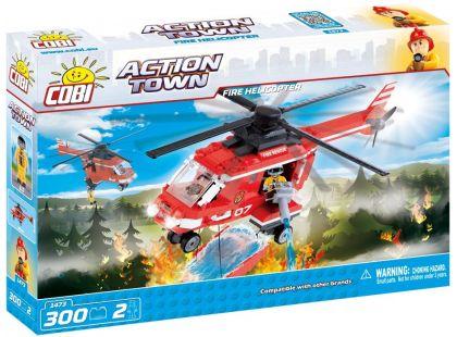 Cobi Action Town 1473 Hasičská helikoptéra