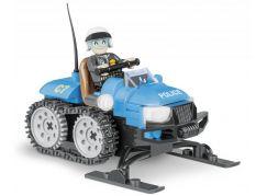 Cobi Action Town 1544 Policejní sněžný skútr