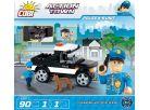 Cobi Action Town 1572 Policie K-9 Unit 2