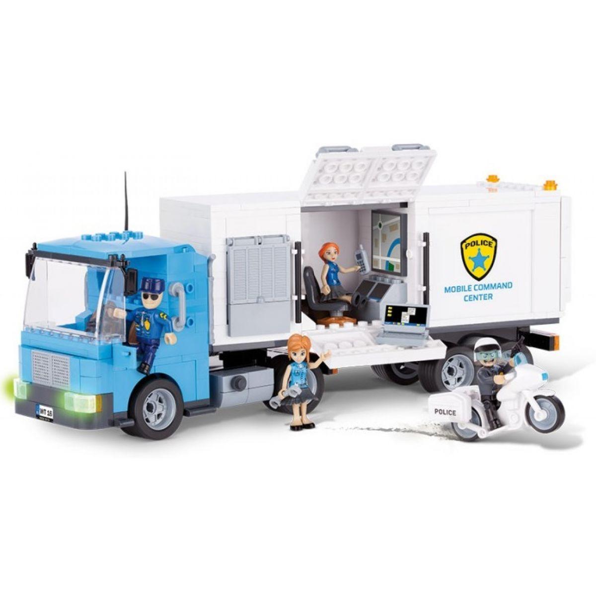 Cobi Action Town 1573 Mobilní policejní velitelství