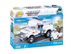 Cobi Action Town 1576 Police Patrol car