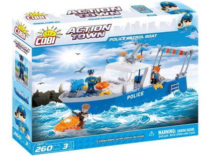 Cobi Action Town 1577 Policejní loď