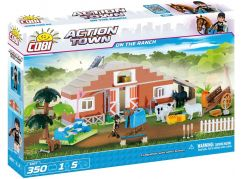 Cobi Action Town 1867 Farma - stáje