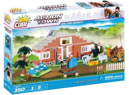 Cobi Action Town 1867 Farma - stáje
