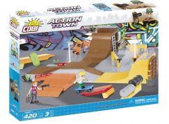 Cobi Action Town 1880 Bláznivý skatepark