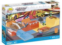 Cobi Action Town Bláznivý megaskatepark 500 kostek