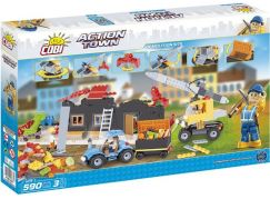 Cobi Action Town Demolice 590 kostek