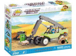 Cobi Action Town Farma výsuvný nakladač 250 kostek