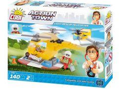 Cobi Action Town Lehká záchranná helikoptéra 140 kostek