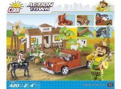 Cobi Action Town Ranč 420 kostek
