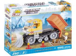 Cobi Action Town Stavba Pásový buldozér 250 kostek