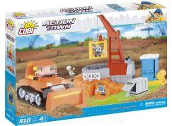 Cobi Action Town Stavební stroje 510 kostek