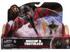 Cobi Jak vycvičit draka Drak a jezdec - Hiccup a Toothless s červenými křídly 3
